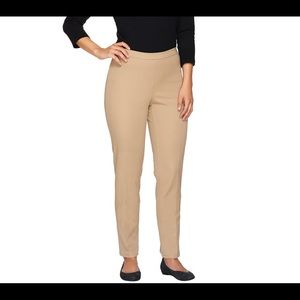 Brand New Isaac Mizrahi 24/7 Stretch Ankle Pants